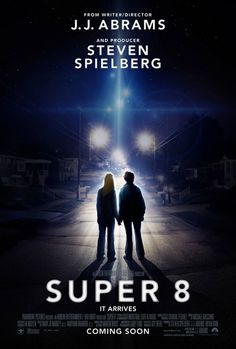 """""""Super 8"""" - During the summer of 1979, a group of friends witness a train crash and investigate subsequent unexplained events in their small town."""