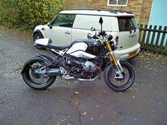 My latest bike and van.