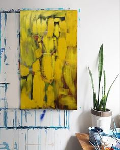 Beautiful art sketches on nice canvas made of colorful acrylics for artworks by a contemporary artist in new style. Contemporary Artwork, Contemporary Artists, Contemporary Style, Modern Art Pictures, Yellow Painting, Art Sketches, Abstract Art, Illustration Art, Canvas Art
