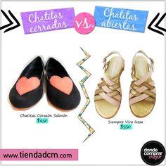 Despedimos el miércoles con un vs. bien de verano: ¿Qué modelo preferís? Encontralos en www.tiendadcm.com.