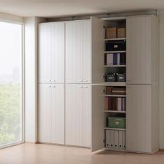 【楽天市場】 【送料無料】【完成品】壁面収納でお部屋スッキリ 本棚 書棚 : リビングシェルフ KFS-90:家具の太鼓判