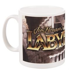Time to get the eight-teas on! Rewind back to 1986 when the hair was big, the pants were tight and the babies wore stripes! The ideal reminiscing companion for #coffee break, a fab #Labyrinth movie logo #mug! xoxo