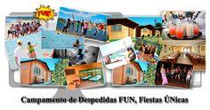 Campamento de Despedidas de Soltera y Soltero Madrid y Ávila. http://www.funfiestasunicas.com