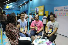 Papo com os booktubers Jackson (@ConnectQu4tro), @victoralmeidap (Geek Freak) e @rafaelriibeiro (Bigode Literário)