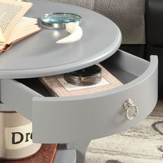 Kingstown Home Decatur Round End Table & Reviews | Wayfair