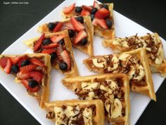 5 Days of Back To School Breakfast Ideas – Breakfast Waffle Bruschetta (Day #4) via Giggles, Gobbles and Gulps http://gigglesgobblesandgulps.com/2013/08/29/back-to-school-breakfast-ideas-breakfast-waffle-bruschetta/