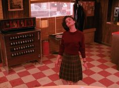 Audrey Horne, dancing in trance to the music - Twin Peaks