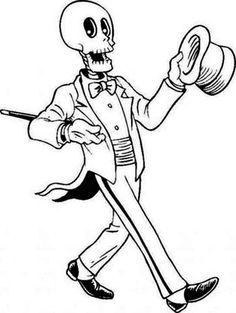 The Elephant Show Halloween Coloring Pages | ... Show Coloring Page Here  Home Skeleton