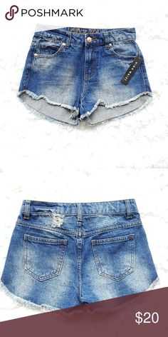NWT Delia's high Jean waisted shorts New with tag Delia's high waisted shorts Shorts