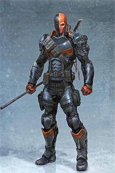 Deathstroke fromBatman: Arkham Origins