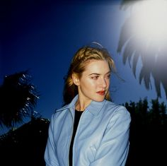 """80s90sthrowback: """"Kate Winslet photographed by Ken Hiveley, 1996. """""""
