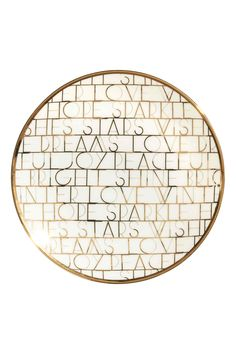 Metallic-print plate | H&M