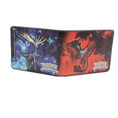 Pokemon X & Y Legendary Black Bifold Wallet