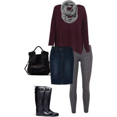 Casual weekend fall outfit