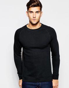 Selected Homme Sweatshirt with Raglan Sleeves · Ropa De HombreRopa ...