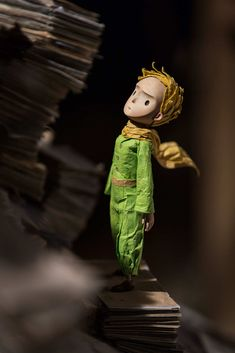 """He's a very somber, pensive young man,"" Juhasz says of the Little Prince. ""So we thought, 'Let's not make him a caricature.'"" While sculpting him, ""I tried to think, What would a line drawing look like? His expressions are very neutral, even his smile."""