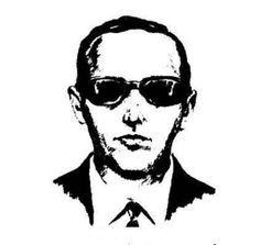 FBI Composite Sketch of D. B. Cooper - Public Domain. Source: Federal Bureau of Investigation