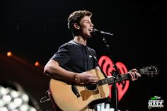 Shawn Mendes onstage during KIIS FM's Jingle Ball 2014 at STAPLES CENTER on December 5, 2014 in Los Angeles, CA. (Photo: Joseph Llanes for iHeartRadio)