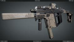 Ainsley   Ainsley3d.com   Here's a Kriss Vector I've been working on for a little while now.