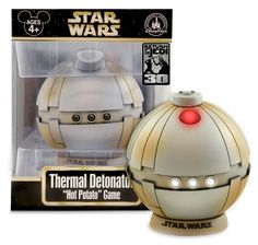 Thermal Detonator Hot Potato Game! Here's a Star Wars themed game that makes sense to me.