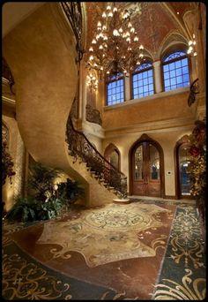 sumptuous interiors…