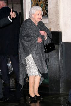 Queen Elizabeth II visits iconic west end restaurant The Ivy, West St, for the 80th birthday of her friend Archduchess Helena of Habsburg on May 18, 2017 in London, England. Joined by her cousin Prince Michael of Kent and his wife for the surprise evening out, the party sat down in the private dining room at the fashionable eatery in London.
