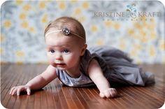 spring bling stretch headbands girls and baby by xoxotova on Etsy, $7.00