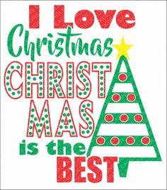 SVG, DXF, EPS Cut File, I Love Christmas, Christmas Sayings Svg, Santa Svg, Christmas Svg, Elf Svg, Svg Vector File, Svg Design by EagleRockDesigns on Etsy