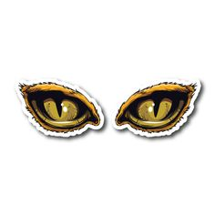 Monster Eyes Vinyl Sticker Eye Stickers, Clear Stickers, Monster Stickers, Monster Eyes, White Ink, Colorful Backgrounds, Collage, Prints, Image