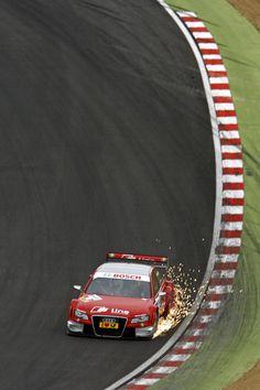 DTM Audi, Paddock Hill Brands Hatch.