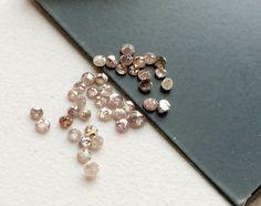 WHOLESALE 1 CTW 12 pcs Pink Rose Cut Diamond Pink by gemsforjewels