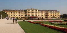 https://flic.kr/p/LJMNmN | Vienna | Schönbrunn Palace, the former imperial summer residence of the Hapsburgs, features 1,414 rooms. In 1569, Holy Roman Emperor Maximilian II purchased a large floodplain of the Wien River beneath a hill where a former owner, in 1548, had erected a mansion called Katterburg. During the next century, the area was used as a hunting and recreation ground. After the death of her husband, Ferdinand II, Eleonora Gonzaga added a palace to the Katterburg mansion…
