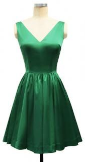 I really just want a green dress like this... for real :)