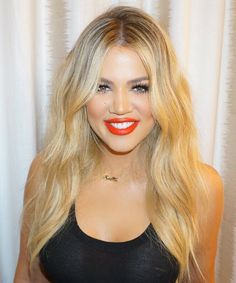 Get the Look: Celebrity Makeup and HairHow-Tos to Try - Khloe Kardashian's Pretty Waves from InStyle.com