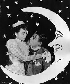 Olivia de Havilland and James Cagney in The Strawberry Blonde, 1941.