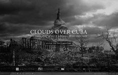 """Clouds over Cuba via @TheFWA - Ésta es una pequeña muestra de todo lo que puede aportar el """"quehacer"""" digital al cine."""