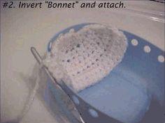Crochet cradle purse.