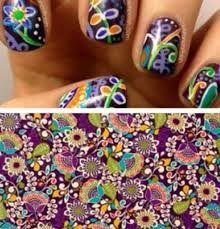 Plum crazy nails from Vera Bradley