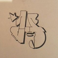 Back to letters ! Hand Lettering Fonts, Graffiti Lettering, Homer Doh, Design Inspiration, Writing, Photo And Video, Alphabet Letters, Videos, Photos