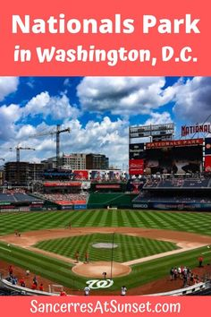 #NationalsPark in #WashingtonDC is a modern baseball stadium that's clean and comfortable by sports-venue standards.  There's not a bad seat, and the climate-controlled club level is a welcome refuge from Washington's weather.  The Park offers lovely views of Washington's memorials from various vantages. via @lesliecarbone