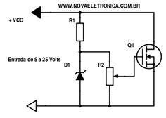 Resistor Eletrônico - Carga Fantasma para Fonte