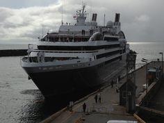 Le Boréal de la Compagnie du Ponant au port de Cap-aux-Meules le 24 septembre 2013 #escaleim
