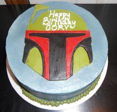 Boba Fett Birthday Cake cakepins.com