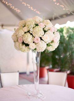 #reception #wedding #centerpiece #love #hydrangea #beauty