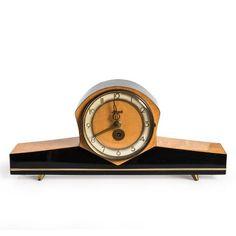 Hermle 1950ler MidCentury Şömine Saati | Hermle 1950s MidCentury Mantel Clock