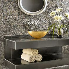 Luxury Stylish Mosaic Bathroom Decorating Interior Design Ideas mosaic bathroom designs