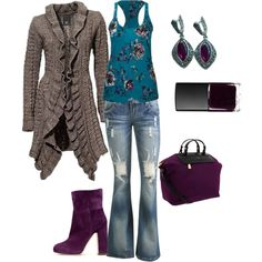 """""""early fall outfit"""" by samantha-holbert on Polyvore"""