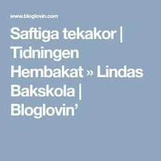 Saftiga tekakor | Tidningen Hembakat » Lindas Bakskola | Bloglovin'