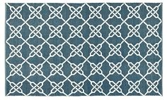 Thom Filicia Outdoor Rug, Ink | Step Outside | One Kings Lane