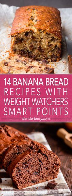14 Weight Watchers Skinny Banana Bread Recipes